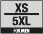 Size M XS-5XL