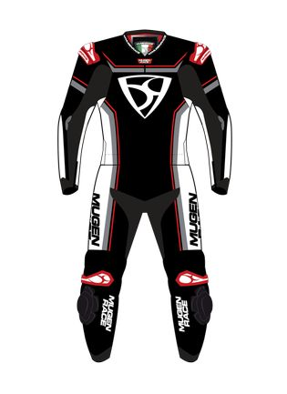 LS2-MNR-1811 BLACK/WHITE/RED