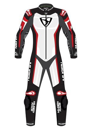 LS1-MNR-2009 LADIES BLACK/WHITE/RED